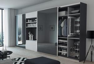 Шкафы, гардеробные, двери